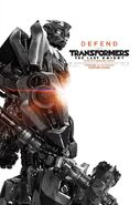 Transformers 5 Poster Bumblebee