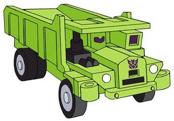 Transformers G1 Long Haul truck