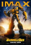 Bumblebee Poster IMAX