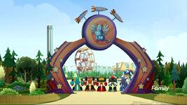 Amusement Park Mechapark