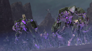 Megatron and his army (TFP)