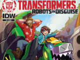 Robots in Disguise comic issue 3