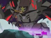 Transformers Animated Blackout VS Rodimus