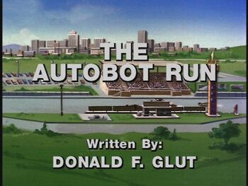 The Autobot Run title shot