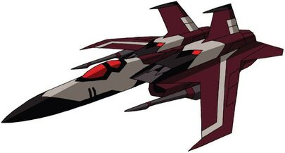 Transformers Animated Ramjet jet