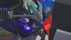 Optimus Vs Megatronus