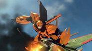 Bumblebee defeats Skyquake