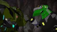 Grimlock and Bulk (Good Teamwork)