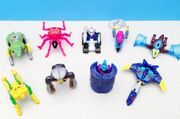 Beast Machines Happy Meal Toys
