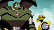 Bumblebee Speaks with Bulkhead