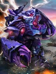 Transformers Prime Blight Beast Mode
