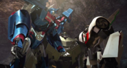Ultra Magnus and Wheeljack
