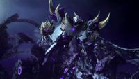 Unicron in Megatron's body (TFP)