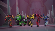 Bee Team face Cyclonus' Team
