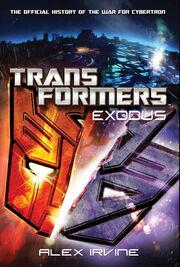 Transformers Exodus Cover