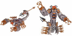 Move DeluxeScorponok toy