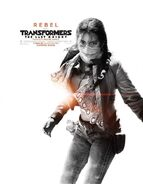 Transformers 5 Poster Izabella