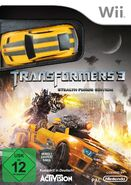 Transformers 3 (Videospiel) Wii-Cover