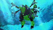 Rid 2015 Grimlock trying to swim