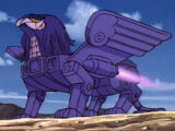 Giant Purple Griffin