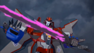 Starscream and Dark Star Saber