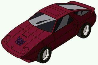 Transformers G1 Dead End car