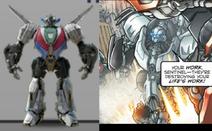 Cybertronian wheeljack comparison