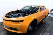AoE Bumblebee Car Half-done