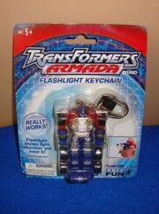 Basic Fun Armada Optimus Prime Flashlight Keychain