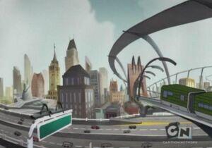 Animated cartoon Detroit