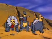 Dinobots beast form