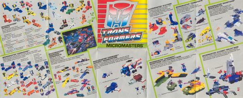Transformers 1990 USA Catalog Micromasters