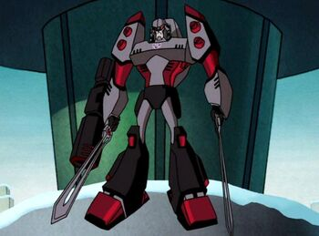 Megatron Rising Megatron descends
