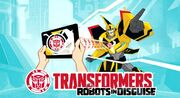 Robots in Disguise Mobile Game Logo