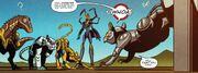 Windblade Combiner Wars Issue 6 Rattrap Meets People of Eukaris