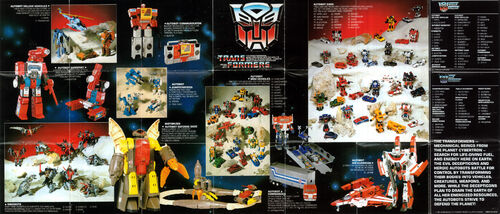 Transformers 1985 USA Catalog Autobots