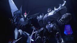 Chain of Command Starscream and Megatron
