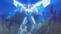 The Story Nears Its End Optimus vs Glowstrike and Saberhorn