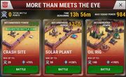 Transformers Earth Wars More Than Meets the Eye Event Battle Zones Beta