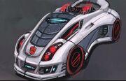 Art of Fall of Cybertron Jazz Vehicle Mode