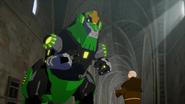 Grimlock speaks to Brother Gunter