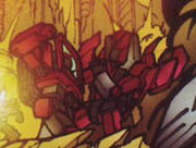 MegatronOrigin4 Ironhide fightin Thrust