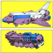 Astrotrain Vehicle Modes Transformers Universe Book