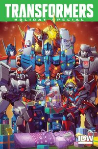 Cover MTMTE Holiday Special 2015