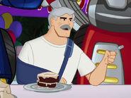 Charlie eat cake
