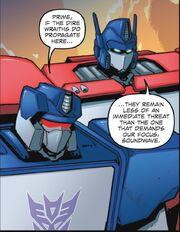 Reinforcements Part 1 Optimus and Soundwave