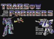 Transformers C64 Title Screen