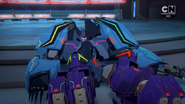 Galvatronus is almost defeated