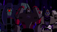 Megatron with Lugnut and Blitzwing
