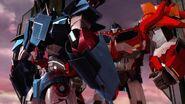Rebellion screenshot Ultra Magnus with Optimus Prime